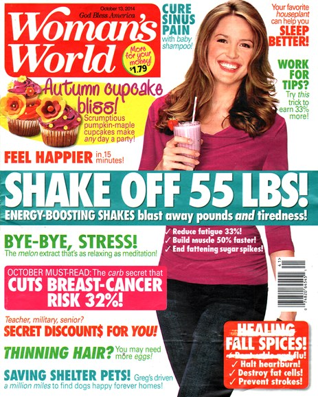 Woman's World Cover - 10/13/2014