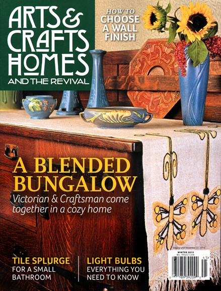 Arts & Crafts Homes Cover - 12/1/2014