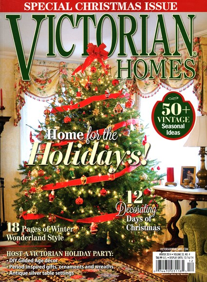 Victorian Homes Cover - 12/25/2014