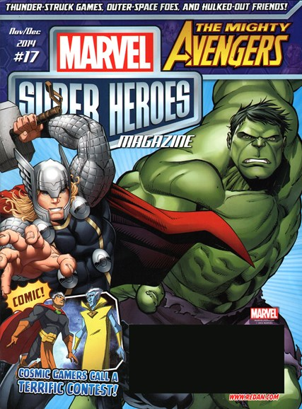 Marvel Super Heroes Cover - 11/1/2014