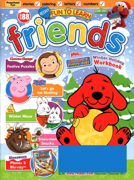 Preschool Friends Cover - 11/1/2014