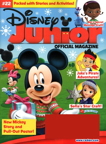 Disney Junior Cover - 11/1/2014