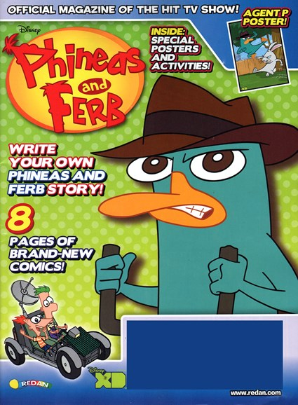 Disney Phineas & Ferb Cover - 11/1/2014