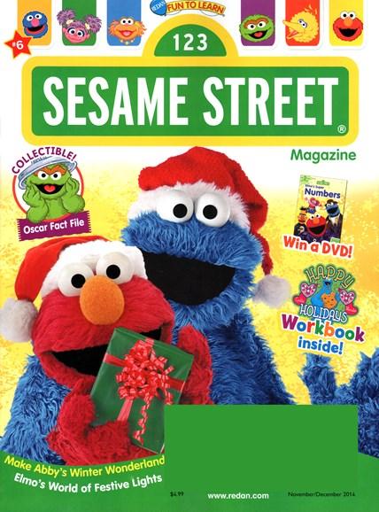 Sesame Street Cover - 11/1/2014