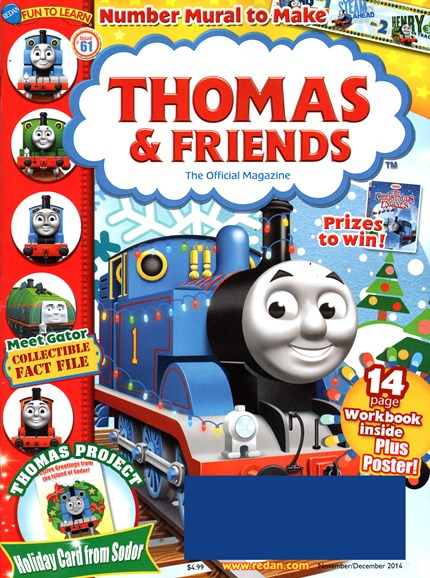 Thomas & Friends Cover - 11/1/2014