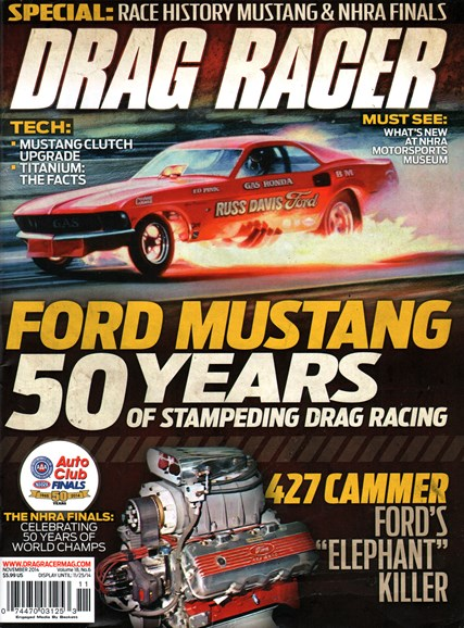 Drag Racer Cover - 11/1/2014
