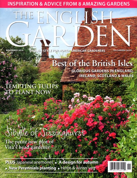 The English Garden Cover - 11/1/2014