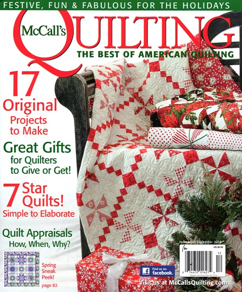 McCall's Quilting Cover - 11/1/2014