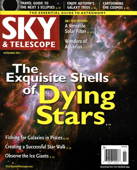Sky & Telescope Cover - 11/1/2014
