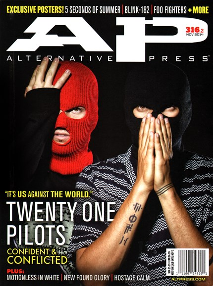 Alternative Press Cover - 11/1/2014