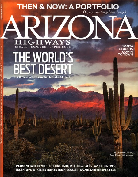 Arizona Highways Cover - 11/1/2014