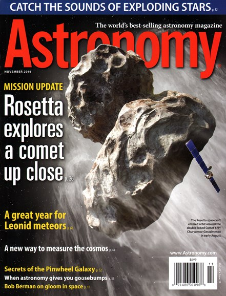 Astronomy Cover - 11/1/2014