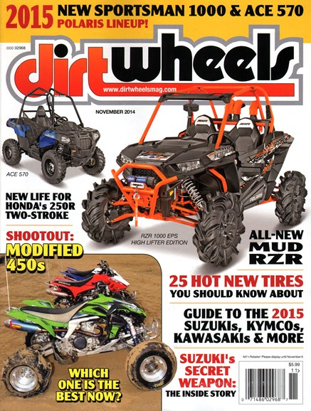 Dirt Wheels Cover - 11/1/2014
