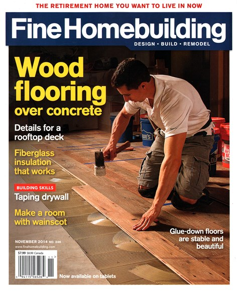 Fine Homebuilding Cover - 11/1/2014