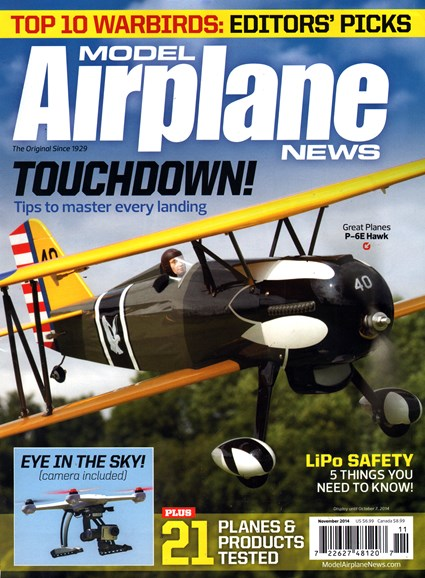 Model Airplane News Cover - 11/1/2014