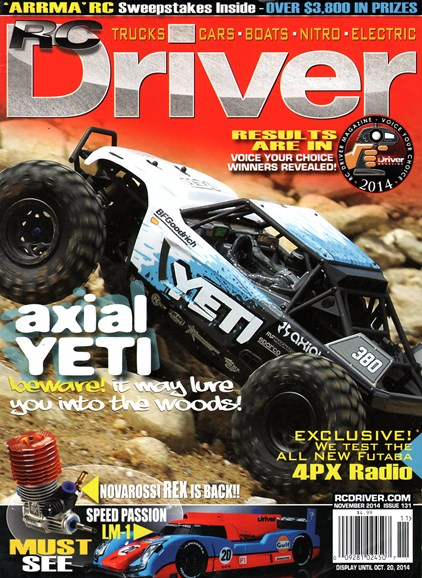 RC Driver Cover - 11/1/2014