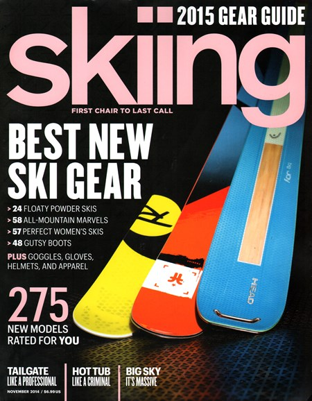 Skiing Cover - 11/1/2014