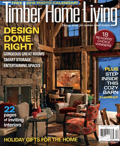 Timber Home Living Cover - 11/1/2014