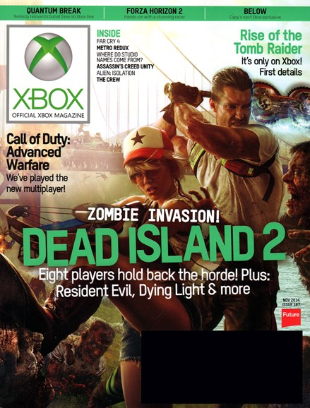 Official Xbox Magazine Cover - 11/1/2014