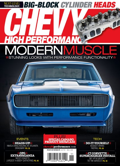 Chevy High Performance Cover - 11/1/2014