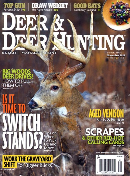 Deer & Deer Hunting Cover - 11/1/2014