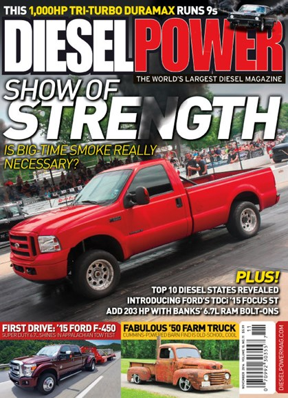 Diesel Power Cover - 11/1/2014