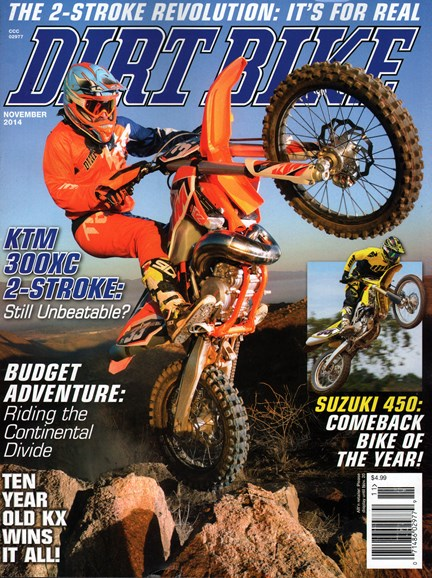 Dirt Bike Cover - 11/1/2014