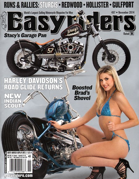 Easyriders Cover - 11/1/2014