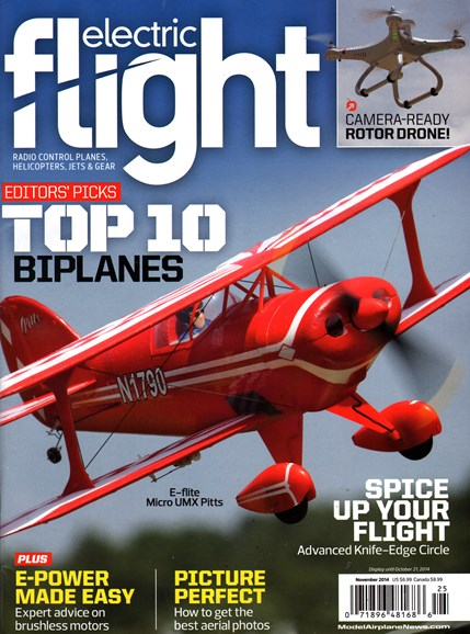 Electric Flight Cover - 11/1/2014