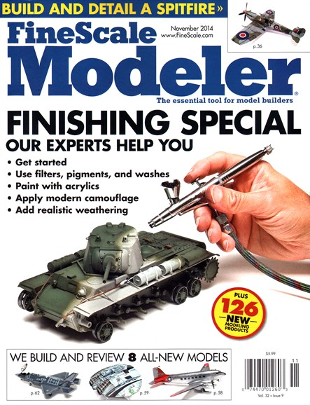 Finescale Modeler Cover - 11/1/2014