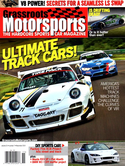 Grassroots Motorsports Cover - 11/1/2014