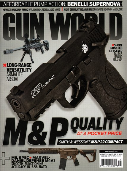 Gun World Cover - 11/1/2014