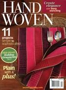 Handwoven Magazine 11/1/2014