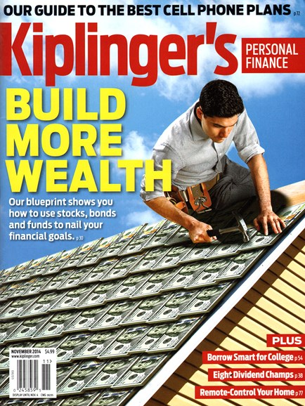 Kiplinger's Personal Finance Cover - 11/1/2014