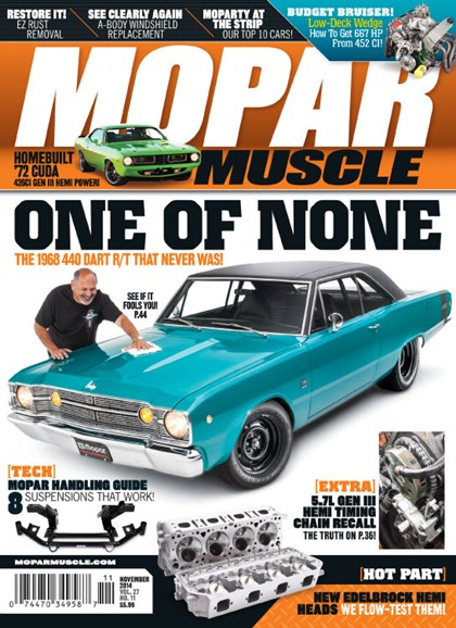 Mopar Muscle Cover - 11/1/2014