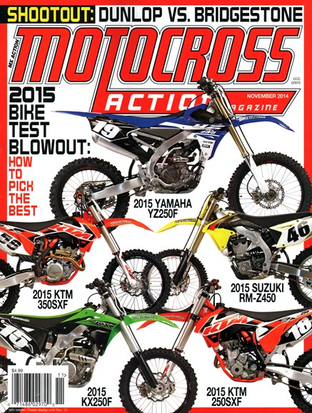 Motocross Action Cover - 11/1/2014