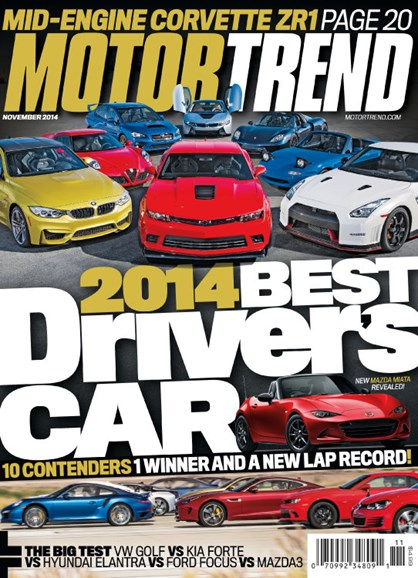 Motor Trend Cover - 11/1/2014