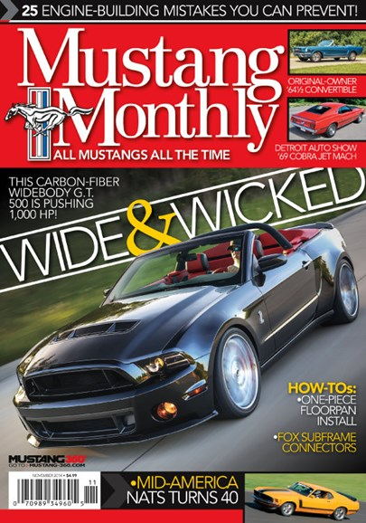 Mustang Monthly Cover - 11/1/2014