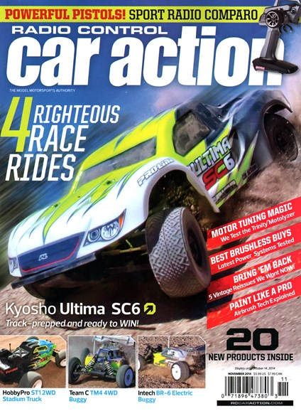 Radio Control Car Action Cover - 11/1/2014