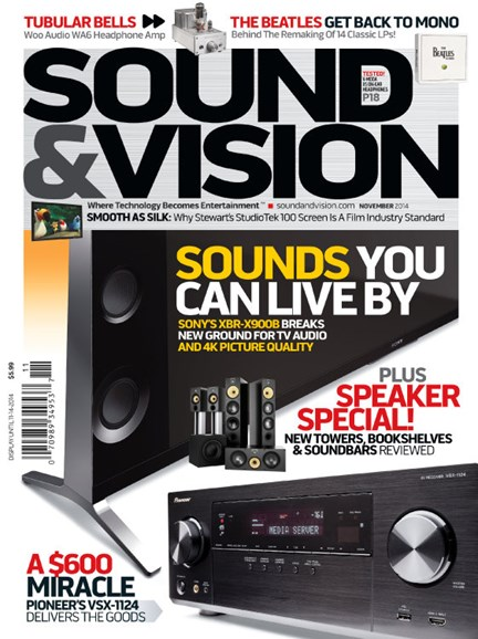 Sound & Vision Cover - 11/1/2014