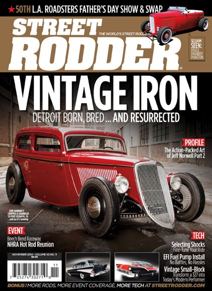 Street Rodder Cover - 11/1/2014