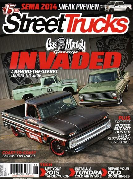 Street Trucks Cover - 11/1/2014