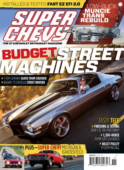 Super Chevy Cover - 11/1/2014