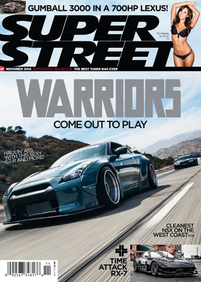 Super Street Cover - 11/1/2014