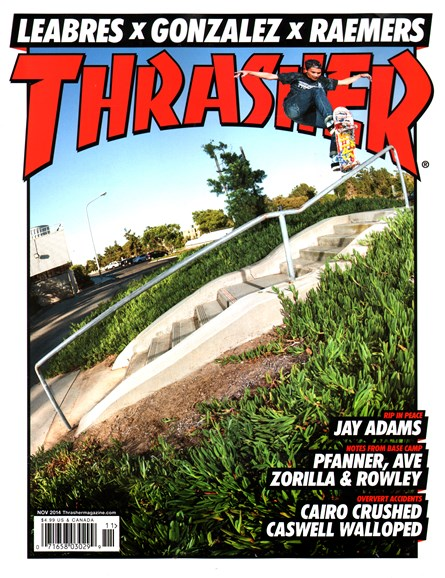 Thrasher Cover - 11/1/2014