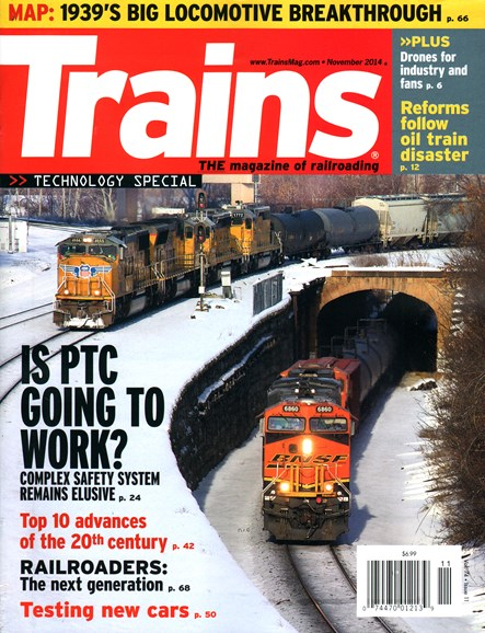 Trains Cover - 11/1/2014