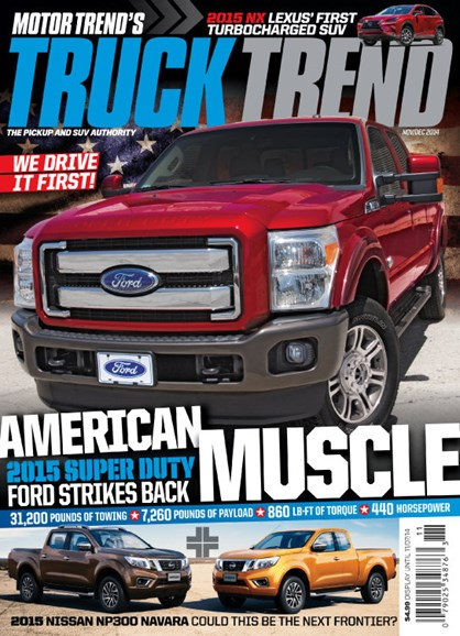 Truck Trend Cover - 11/1/2014
