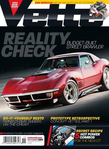 Vette Cover - 11/1/2014