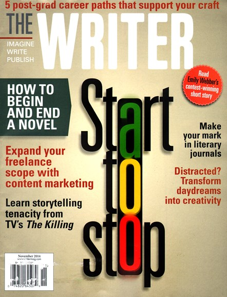 The Writer Cover - 11/1/2014