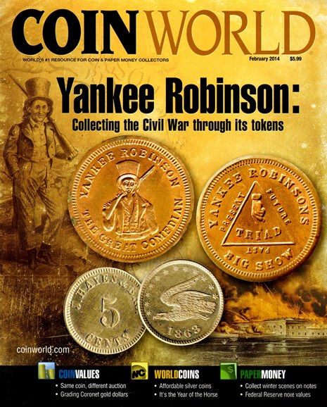 Coin World Monthly Cover - 2/1/2014